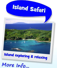 Hauraki Gulf Island Safari Options.